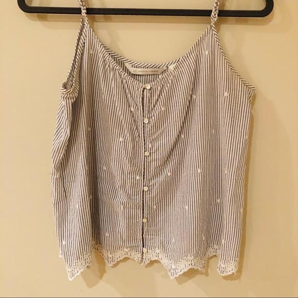 LC Lauren Conrad Tops - Lauren Conrad Striped Summer Top